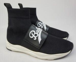 Eu Sneaker Logo Nero Decorato Taglia Balmain Cinturino Rete A 40 Cameron Calze EPqqxZ8