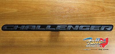 2016-2018 Dodge Challenger Blacktop Edition Grill Emblem New Mopar OEM