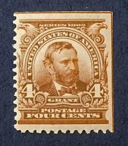 Scott US #303 - 1902-03 Grant, 4 Cents; Mint Never Hinged, OG; CV=$140