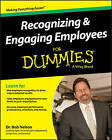 Recognizing & Engaging Employees For Dummies by Bob Nelson, Consumer Dummies (Paperback, 2015)