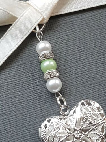20 colour mix pearls Special order Filigree Heart Locket Bouquet Charms