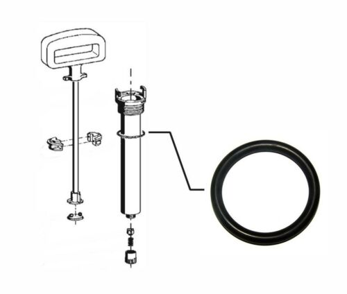 für LUX Drucksprühgerät Sprühgerät O-Ring 25 x 5 mm Dichtung Dichtring NBR u.a