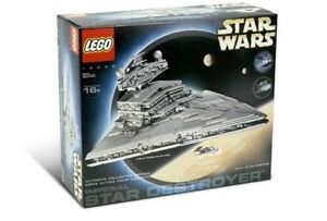 Lego Star Wars Ucs Imperial Star Destroyer 10030 New Sealed In