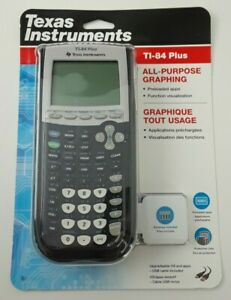 Texas-Instruments-TI-84-Plus-Graphing-Calculator-Black-NEW-SEALED