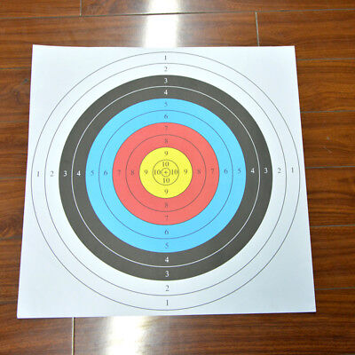 38x38cm Archery Target Paper Face Animal Arrow Bow Shooting Hunting