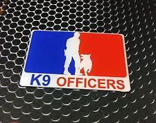 "K9 Police Sticker Domed Decal Emblem Car Sticker 3D 3.25""x 2"" K9 Officer"