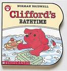 Clifford's Bathtime by Norman Bridwell (Board book)