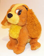 "Lady & Tramp Disney 7"" Bean Bag Plush Dog Puppy Stuffed Animal Toy Tote A Tail"