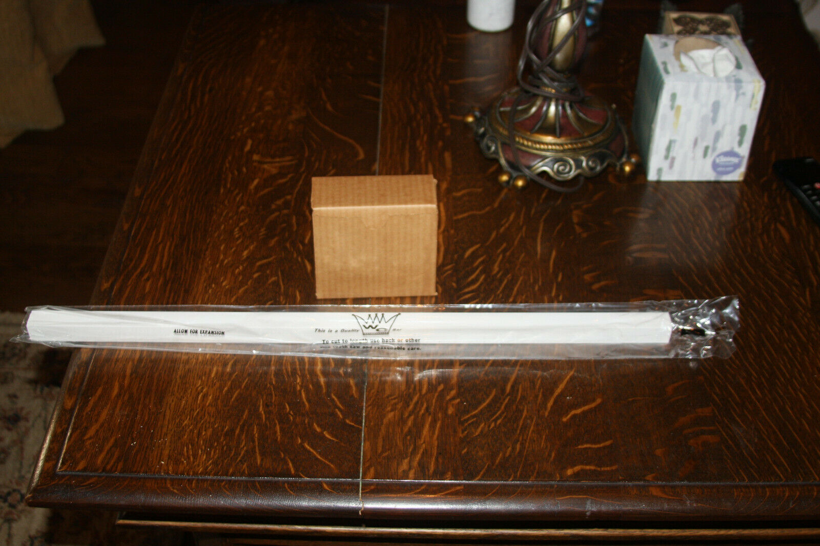 L Plastic Franklin Brass White Towel Bar Replacement 24 In