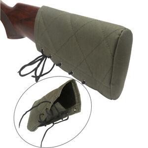 Tourbon-Shooting-Slipon-Recoil-Pad-Rifle-Shotgun-Buttstock-Protect-Sleeve-Green