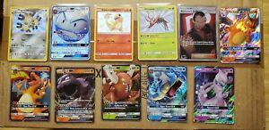 Pokemon Hidden Fates Shiny Vault /GX Card Lot x11 | Pack Fresh