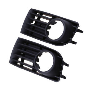 Front-Bumper-Foglight-Grille-Grill-For-VW-Golf-Mk5-05-09-W-Hole-Pair-06-Lower