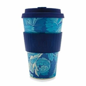 Details Travel Morris Mug Cup Ecoffee Bamboo Acanthus About William 14oz hQtrdCsx