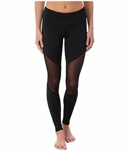 c5696561a4 NWT New Onzie Yoga Pilates Mesh USA Barre Legging Black High Waist ...