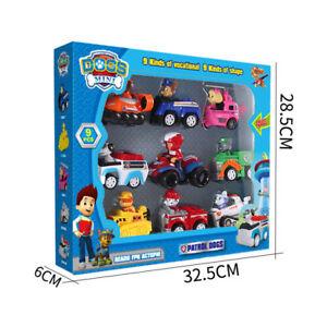 Pat-patrouille-Avec-Boite-lot-de-9-figurines-Pat-patrol-jouet-enfant-Figurine