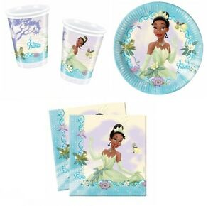Princess The Frog Tiana Birthday Party Supplies Tableware