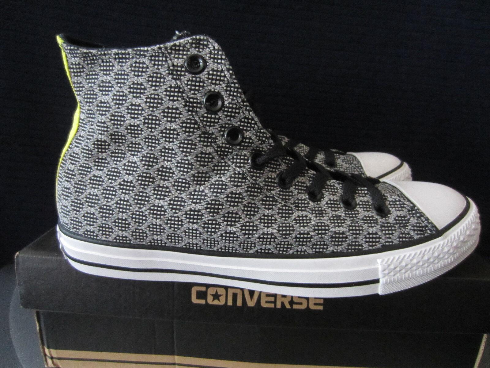 CONVERSE Chuck Taylor All Star Hi Jacquard 155436C Sneakers Grau Gr.42,5 NEU!