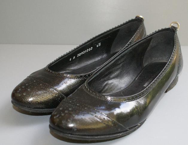 Details zu Stiefel Gabor Reißverschluss Keilabsatz Echtleder schwarz Gr. 4 = 37
