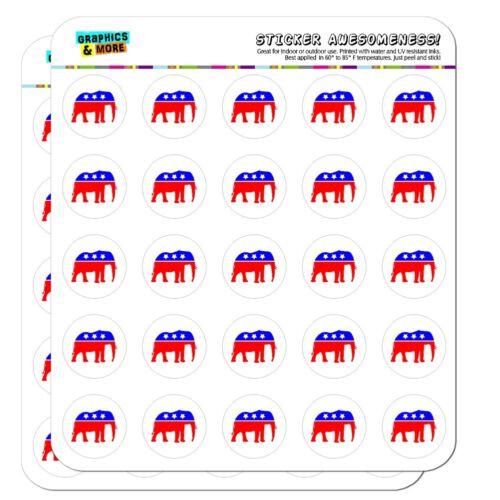 Republican Elephant GOP Politics Planner Calendar Scrapbooking Crafting Stickers