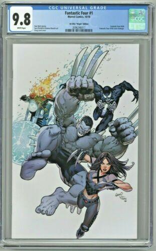 Fantastic Four #1 CGC 9.8 CK Elite Virgin Edition Variant Greg Land Cover