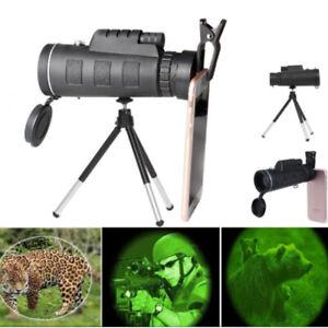 40x60-Zoom-Monocular-BAK4-Camera-Lens-Telescope-Tripod-Universal-Phone-Holder