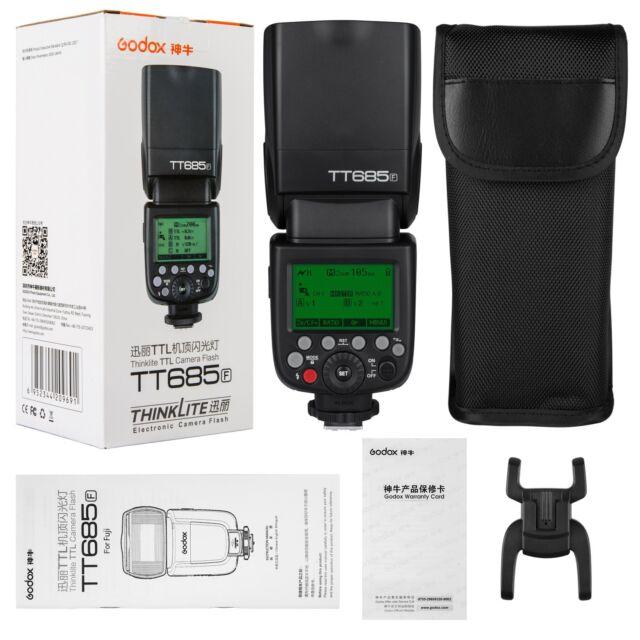 Godox TT685F TTL HSS Blitz Aufsteckblitz Systemblitz für Fujifilm Fuji