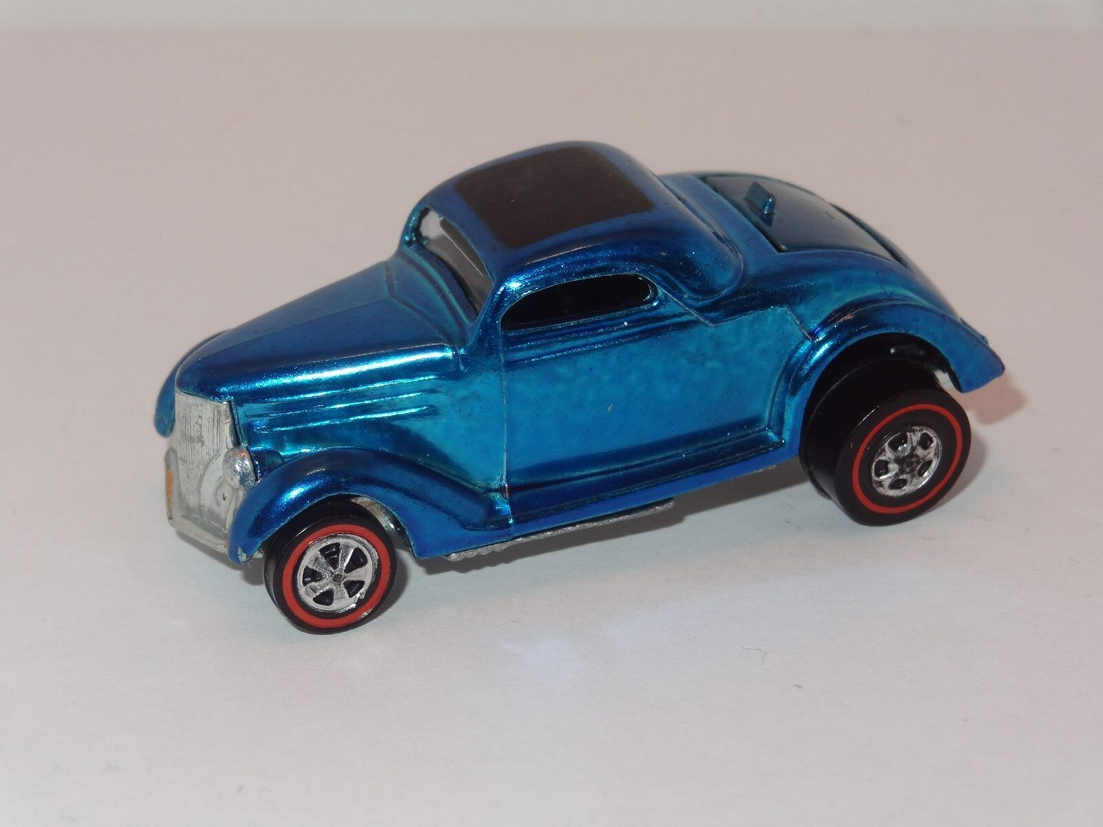rougeline Hot Wheels 1969 Classic 36 Coupé Ford-Bleu-BLISTER  v. RARE  L @ @ K