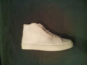 b43ae74525e4 Converse Pro Leather 76 Mid White 155335C Men SZ-9.5 Womens SZ-11