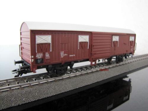"""neu Aus Märklin 00779 ein Güterwagen /""""Spundwandwagen/"""" im Neuzustand"""