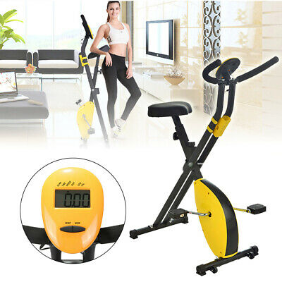 Exercise Bike Workout Health Fitness Portable Upright ...