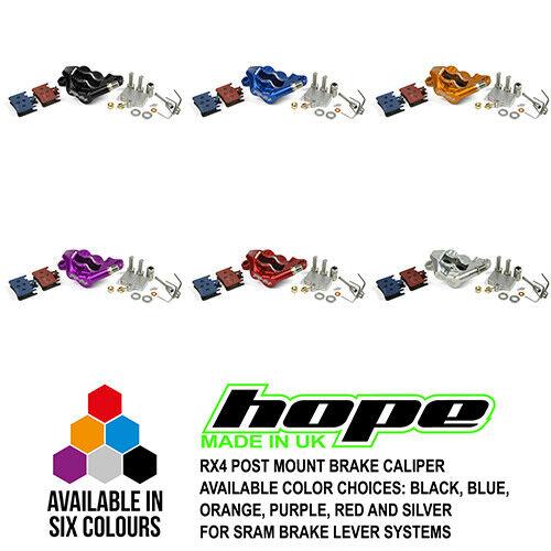 New Post Mount Caliper Shimano // SRAM Hope RX4 Road Gravel Hydraulic Brake