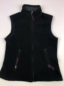 Patagonia-Synchilla-Black-Fleece-Vest-Full-Zip-Women-039-s-Size-Small-S-2-Two-Pocket