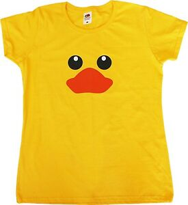 82611a6be Image is loading Rubber-Duck-Funny-Female-Fit-Womens-T-Shirt