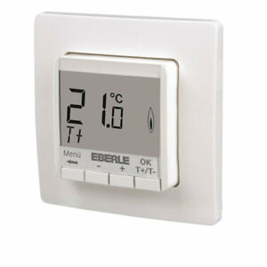 eberle raumtemperaturregler fit np 3r up digital raumthermostat fu bodenheizung ebay. Black Bedroom Furniture Sets. Home Design Ideas