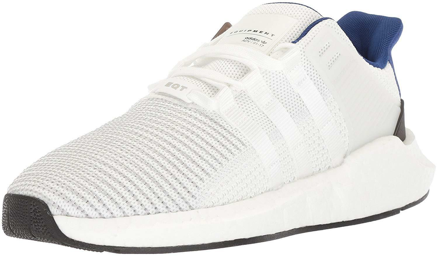 adidas Originals Men's EQT Support 93/17 Running Shoe, White/White/Black, 13 M Cheap and beautiful fashion