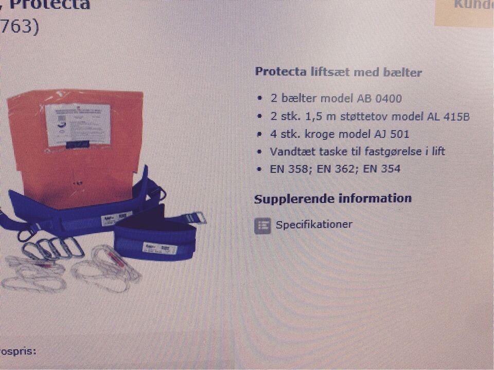 Faldsikringssæt, Protecta