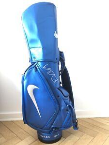 Nike-Vapor-Fly-Blue-Golf-Tour-Staff-Cart-Bag-Collectors-Rare