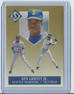 1991-Fleer-Ultra-Team-4-Ken-Griffey-Jr-Seattle-Mariners-HOF-Mint