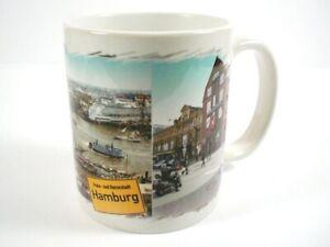 Taza-Hamburgo-Puerto-Ayuntamiento-de-la-Ciudad-Cafe-Recuerdo-Nuevo-Ceramica