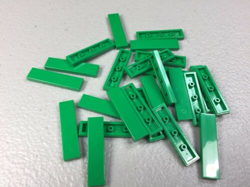 2431 Authentic FINISHING TILES NEW LEGO 1X4 TILE Green x25