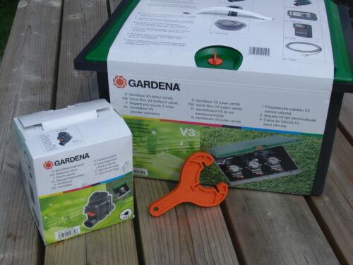 Ventilschlüssel Gardena Ventilbox V1 1254 V3 1255 Bewässerungsventil Ventil 4040