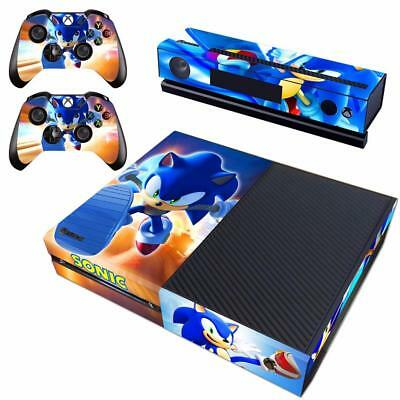 Sonic The Hedgehog Vinyl Skin Decals Sticker For Original Xbox One Controller Ebay
