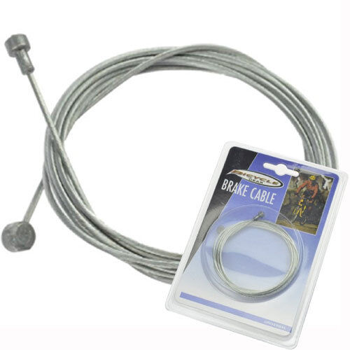 BICYCLE CYCLING BRAKE CABLE BARREL NIPPLE GALVANISED 1800MM