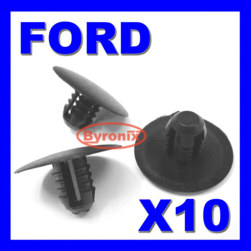 10 FORD MONDEO MK3 capot isolation doublure Pad clips