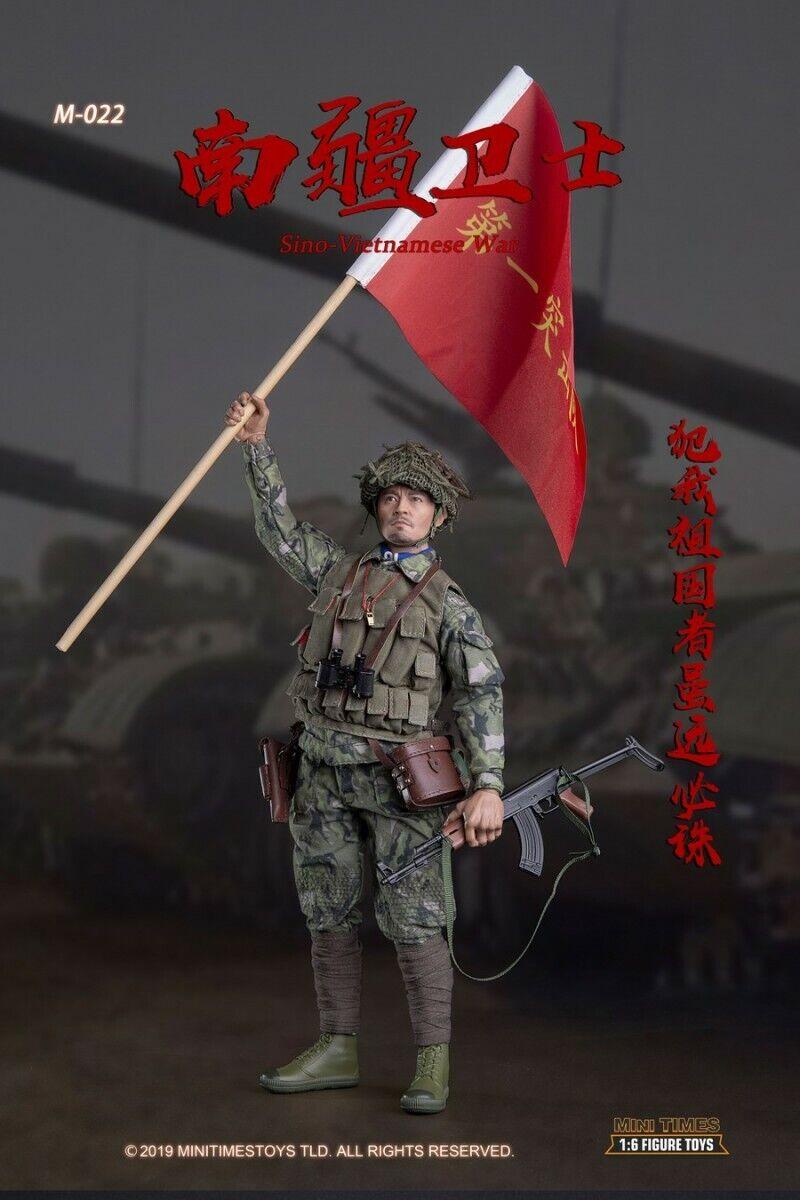Mini times toys (M022) 1 6 Sino Vietnamese War Soldier Guard Action Figure