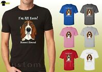 Basset Hound Dog Design Shirts Basset Hound Lovers Unisex T-Shirt (19636hd4)