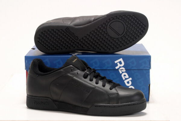 207325ef79b72 REEBOK CLASSIC 66836 BLACK ADULTS SIZES TRAINERS NEW NPC 2
