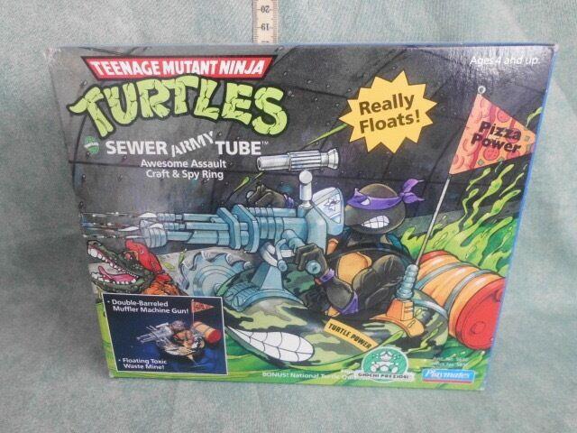 Playmates Teenage Mutant Ninja Turtles Sewer Army Tube IN  Box 1989 NEW
