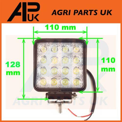 4 x 48W LED work Light Lamp 12V Flood Beam 24V Truck Tractor Jeep ATV Car Boat