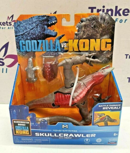 Godzilla vs King Movie Monsterverse - SKULLCRAWLER Figure w/ HEAV